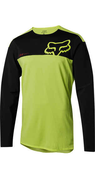 Fox Attack Pro Long Sleeve Jersey Men yellow/black